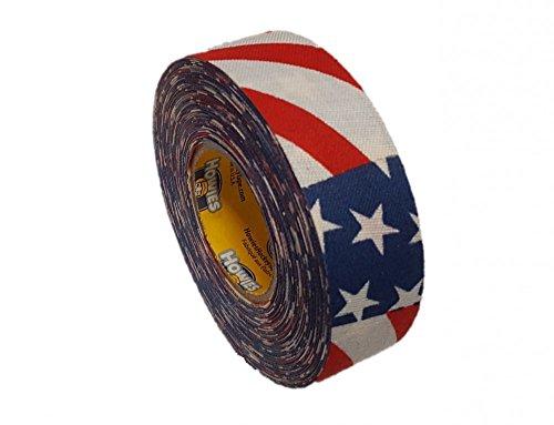 Schlägertape Profi Cloth Hockey Tape 25mm f. Eishockey American Flag, 18 m