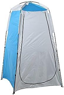 Sekretess skydd tält bärbar utomhus camping strand dusch tält toalett byte sol regnskydd med fönster strand tält