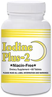Iodine Plus 2 -Thyroid M.D.'s Official Formula - 2 Month Supply - 60 Tablets - for Thyroid Support