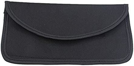 Semoic 100% Anti-Tracking Anti-Spying GPS RFID Signal Blocker Pouch Case Bag Handset Function Bag for Cell Phone Privacy Protection and Car Key FOB