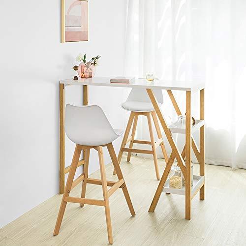 Mesa alta (altura, madera) | Mejor Precio de 2020 - Achando.net