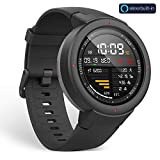 Amazfit Verge Smartwatch with Alexa Built-in, GPS Plus GLONASS All-Day Heart Rate and Activity Tracking, 5-Day Battery Life, Ability to Make and Answer Phone Calls, IP68 Waterproof, A1811 Gray