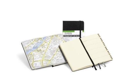 Moleskine City Notebook Frankurt am Main, Pocket, Hardcover, schwarz