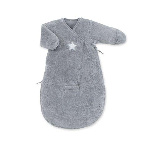 Bemini by Baby Boum 141STARY92SF Schlafsack Softy Stary Grizou, 0-3 Monate, grau