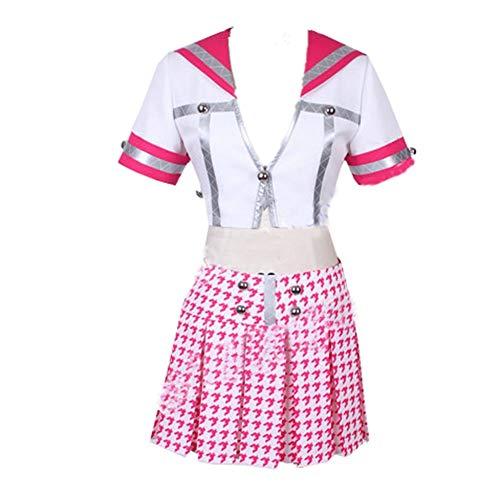 Persona 4 Cosplay School Uniform Kujikawa Rise Cosplay Costume Tailor Made (Female S) Purple