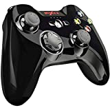 PXN Wireless Mobile Game Controller for iPhone iOS, iPad, Apple TV, iPod - Apple Arcade - MFi Certified Gamepad with Phone Mount(Black)