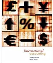International Accounting (1st)[1E] (Hardcover)