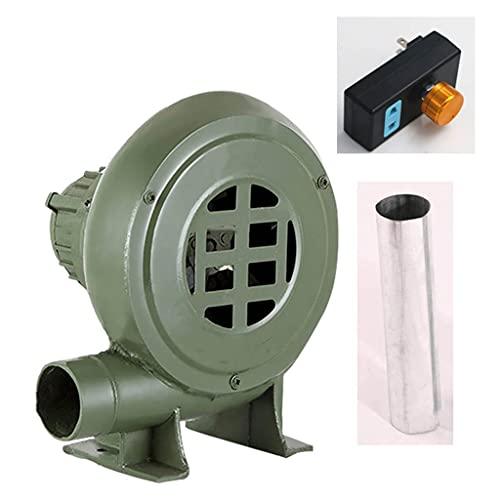 41CtLPFE9gS. SL500  - JXS Elektrische Gebläse mit 220V, Reiner Kupfermotor mit Geschwindigkeitsregler-Verbrennungsventilator, verwendet für den Innenkamin und den Grebcue-Handwerker im Freien,250W
