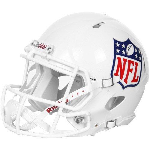 Riddell NFL Shield Logo Football Authentic Full Size Speed Helm Footballhelm Spielhelm