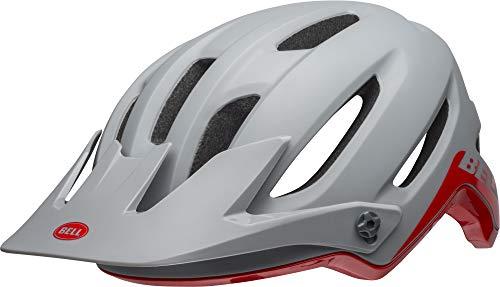 BELL 4FORTY Casco de Bicicleta, Unisex-Adultos, Cliffhanger M/G Gry Crimson, Extra-Large