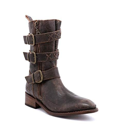 Bed|Stu Women's Blanchett Leather Boot (8.5 M US, Teak Lux)