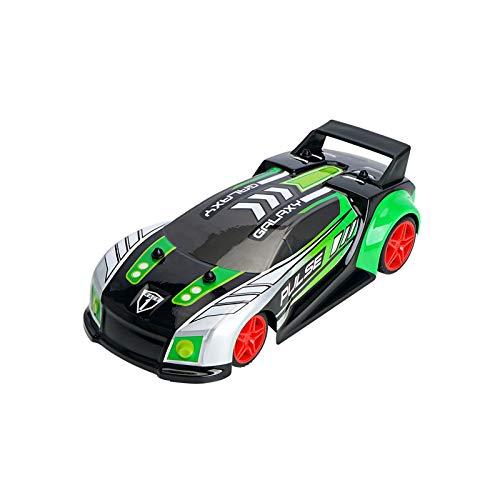 SDDS 1:20 RC Drift Racing Car 4WD, 2,4 GHz Multicanal De Alta Velocidad Varias Luces De Música Terrain Cool Carreras De Vehículos Todoterreno, para Niños Niñas Adultos Coches De Juguete Regalos,Verde