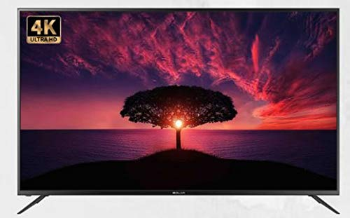 BOLVA TV LED 50  4K S-5088A Smart TV Italia Black