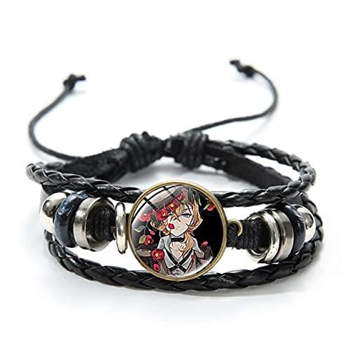 FYAO Libélula Decoración tiempo gema pulsera moda tejida a mano pulsera pulsera estilo 836