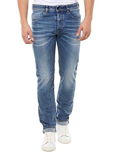 Diesel Herren Jeans Buster 0853l Regular Slim-Tapered Blue (82) 29/32