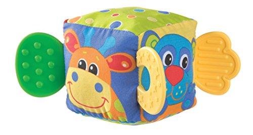 Playgro 0180170 - Mordedor, forma de cubo blandito