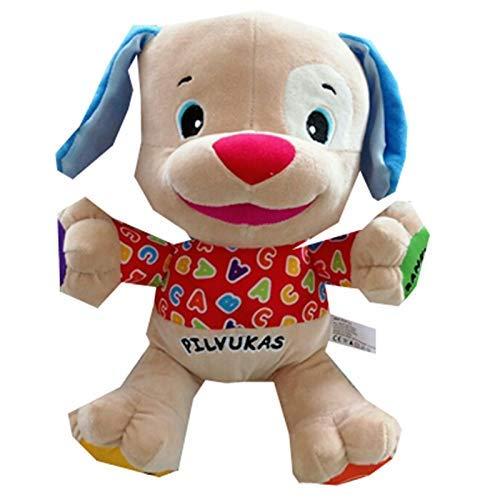 Dirgee Juguete Suave Que Habla Perro Juguete Canto muñeca Peluche Juguetes Musicales for bebé niño Relleno Educativo