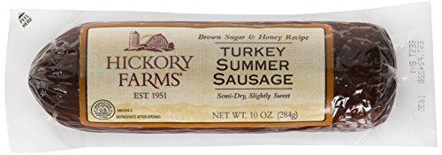 Hickory Farms Turkey Summer Sausage Net WT.10 OZ