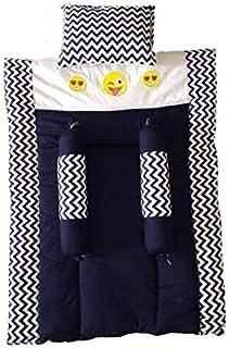 Miss Queen Baby Mattress Set- Blue (0-6 Month Only)