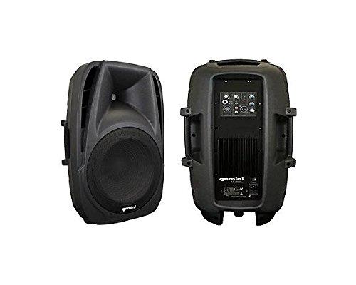 Gemini ES-08P cassa speaker diffusore attivo professionale 2 vie amplificato 150 watt