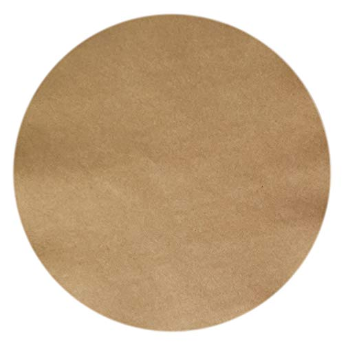 Parchment Paper Sheets for Baking Round 9 Inch 200pcs Unbleached Baking Paper for Oven Nonstick Uses for Baking Cookies, Bread, Meat, Pizza, Toaster Oven