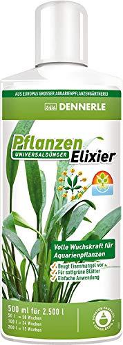 Dennerle 2755 Pflanzen Elixier - Universaldünger für Aquarienpflanzen, für sattgrüne Blätter, 500 ml