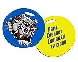 Placa de Reconocimiento Bolsa de Viaje Maleta Personalizable Satmpa Personalizado Etiqueta Plástico Fotos Logo Letras