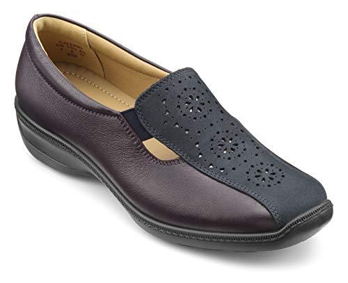 hotter Women's Calypso Casual Shoe Navy-Plum 9 US Casual Shoes