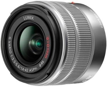 Panasonic H Fs1442ae K Af Motor Objektiv F5 6 Asph Ois Kamera