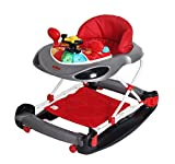 Bebe Style Deluxe 2 in 1 F1 Racing Car Baby Walker/Rocker +Musical Activity