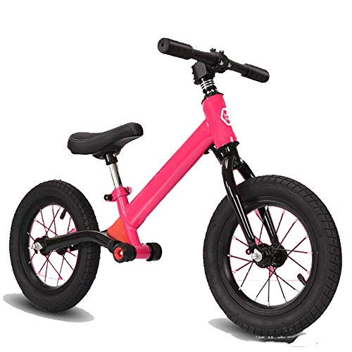 JLYLY Marco De Equilibrio De Bicicletas Hierro Inflable De Neumáticos Niños Walker Niños 2-6 Años Juguetes Al Aire Libre,Rosado