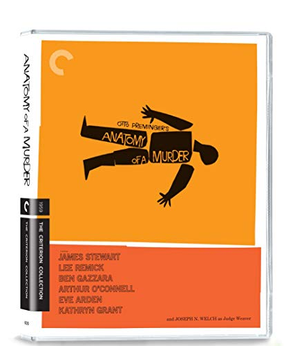 Anatomy of a Murder (Criterion Collection) [Blu-ray] [2019]