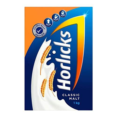 Horlicks Health & Nutrition drink – 1 kg Refill pack (Classic Malt)