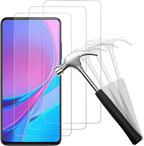 Snnisttek [3 Stück Xiaomi Mi 9T Panzerglas Schutzfolie-Displayschutzfolie für Xiaomi Mi 9T-9H Härte, Ultra Kristallklar-Schutz vor Kratzen, Öl, Bläschen