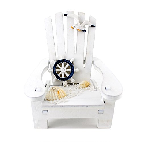 Handmade Cute White Rudder Sunshine Chair Home Decor Article,Photograph Setting