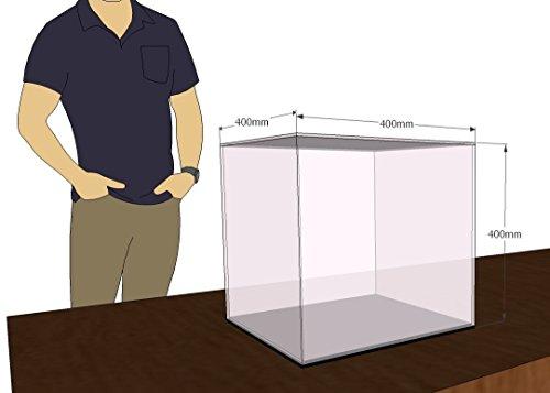 Transparente//Fondo Espejo Montada mide 63x60x10 cm T/écnicas L/áser P4.3.4L6B//E Vitrina De Metacrilato altoxanchoxfondo Set de 13 Piezas