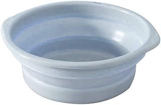 Lave-Portable multifonction Rafle Bowl Accueil Salle de bain Lavabo de stockage d'eau seau portable seau pliant for campin...