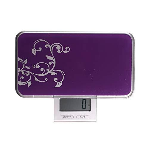Balanza De Cocina Gramos Báscula Digital Pocket Scale Portátil Balanza Digital De Alimentos Multifuncional Industrial/oro Balanza 5k/g2g