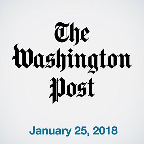 January 25, 2018 copertina