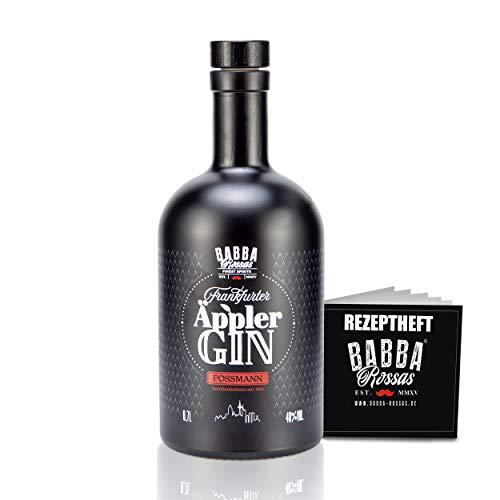 Babba Rossas - Der ÄPPLER Spirituose auf Ginbasis mit APFELWEIN vom Possmann - Frankfurts Finest 0,7L