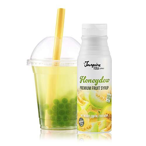 Fruchtsirup für Bubble Tea - 300ml - Honigmelone - Ohne künstliche Farbstoffe - 100% Vegan und Glutenfrei