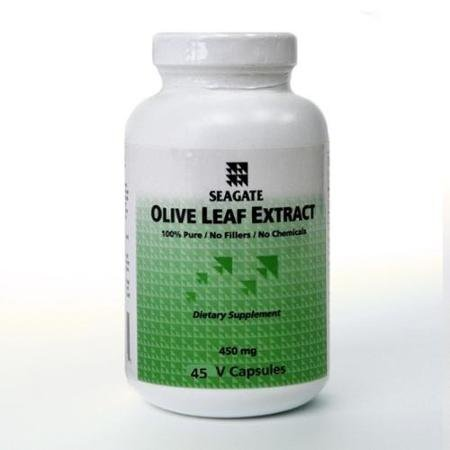 Seagate Products Olive Leaf Extract 450mg 45 Capsules