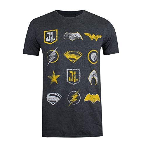 Producto oficial de DC Comics. Estilo: camiseta para hombre de ajuste normal.