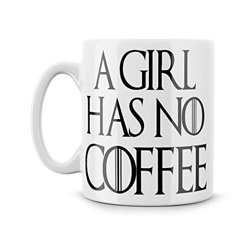 Gale66Lucy een meisje heeft geen koffie mok grappige Meme schattig kitten spel van tronen kreeg arya Stark