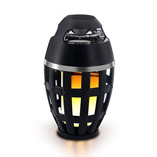 Hancoc Flamme Tischlampe Bluetooth Lautsprecher Kreative Computer Telefon Subwoofer Drahtloser Bluetooth Lautsprecher Außenlautsprecher Licht