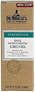 Dr. Miracle's Daily Moisturizing Gro Oil, 118 ml