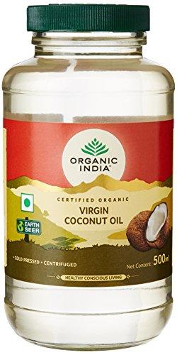 ORGANIC INDIA Cold Pressed Virgin Coconut Oil, 500ml