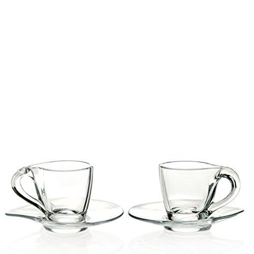 RCR Trends Set Espresso, 6 Pezzi, 9.2 cm, 6 unità