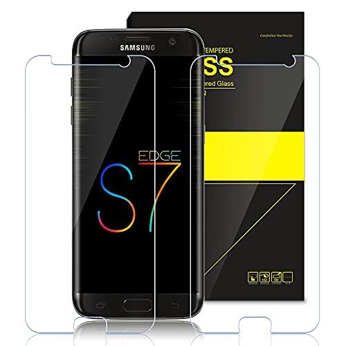 Zinking [2 Stück] Panzerglas für Samsung Galaxy S7, Schneller Schutzfolie, Schnelle Reaktion, kratzfeste, blasenverstärkte Panzerglasfolie, geeignet die Samsung S7 Displayschutzfolie
