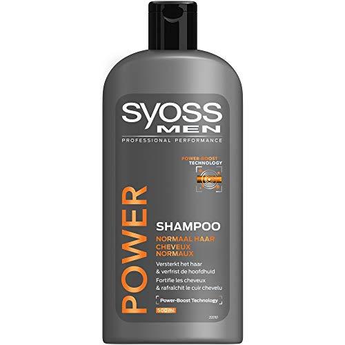 Syoss Men power & strength shampoo - 500ml